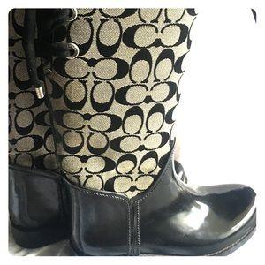 Coach women's rain boots